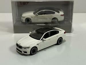Minichamps 870028000 2018 BMW M5 White 1:87 Scale