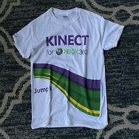 Microsoft X Box 360 Kinect Short Sleeve T Shirt Sz Small Great Condition