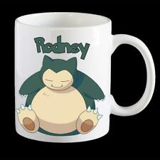 Personalised Pokemon Snorlax Coffee Mug