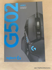 NEW LOGITECH G502 HERO GAMING MOUSE 910-005469 PLAY ADVANCED FAST FREE SHIPPING