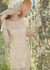 Petite Sheath Dresses Women with Cap Sleeve