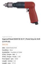Ingersoll Rand Aro Dg022b 26 Mini Reversible 14 Drill Rpm 2600 Aircraft Tool
