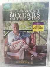 Attenborough - 60 Years In The Wild - Region 2 & 4 Double DVD + Digital Download