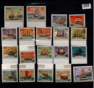 // PENRHYN 1984 - MNH - SHIPS - ROTARY - WHOLESALE