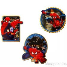 NEW - Pack of 3 SPIDERMAN Foam Wall Decorations by Marvel, Dorm Or Bedroom Déco