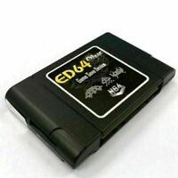 PAL/NTSC ED64 Plus Game Save Device Cartridge 16GB SD Card Adapter Receiver Part