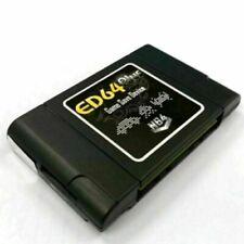 PAL/NTSC ED64 Plus Juego Cartucho de dispositivo de almacenamiento Receptor Adaptador de tarjeta SD de 16GB parte
