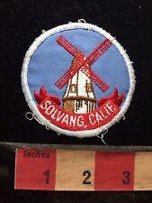 Vtg Solvang California Dutch Windmill Patch 76X3