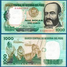 PERU 1000 Soles de Oro 1981  UNC  P.122