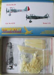 A210 - BREDA Ba.28 - Choroszy Modelbud-1/72