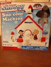 Original Snoopy Sno-cone Machine, No Squeeze Bottle, No Cups