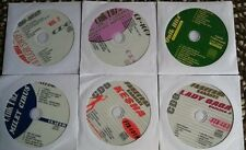 6 CDG KARAOKE DISCS BEST OF GIRL POP/COUNTRY-TAYLOR SWIFT,MILEY CYRUS,LADY GAGA
