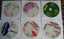 6 CDG KARAOKE DISCS BEST OF GIRL POP/COUNTRY-TAYLOR SWIFT,CYRUS,KE$HA CD+G CD