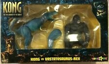 X-PLUS KONG vs VASTATOSAURUS-REX Figure THE8THWONDER OF THE WORLD