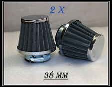 2 of Pod Chrome Air Filter 38mm Dirt Bike/Quad Bike/ATV Pit Bike Buggy go kart