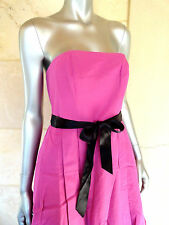 Tommy Hilfiger New Pink Strapless Knee Length Cocktail Party Prom Dress Sz 4 NWT