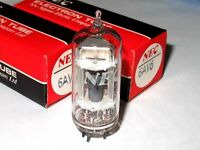 2PCS - NEC 6AV6 Radio Vacuum tube NOS NIB - Japan