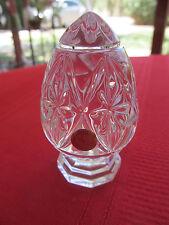 """Bleikristall 24% Lead Crystal Egg On Stand Figurine 3 1/4"""" Germany"""