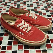 d7c74414edb624 RED ~ Vans Authentic Era Classic Sneakers Unisex Canvas Shoes US W 7 M 5.5