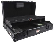 ProX XS-DDJSRLTBL All Black Hard Flight Road Case for Pioneer DDJ-SR DDJ-RR