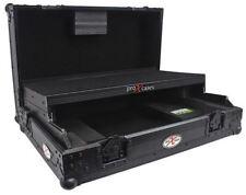 ProX XS-DDJSRLTBL All Black Hard Flight Case for Pioneer DDJ SR DJ Controller