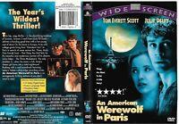An American Werewolf In Paris (OOP 1998 DVD) Tom Everett Scott, Julie Delpy