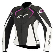 Blousons Alpinestars en cuir pour motocyclette Femme