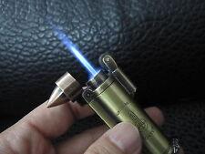 Bullet design jet torch flame windproof lighter cool key chain cigarette lighter
