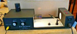 GIA GEM INSTRUMENTS DIAVIEW 2000 DIAMOND VIEWER MICROSCOPE 120V