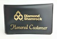 Diamond Shamrock Card Holder for Honored Customer Oil Gas Station Vintage