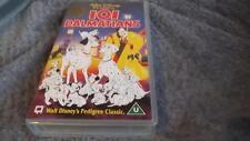 Walt Disney Classics 101 Dalmatians VHS Pal Video