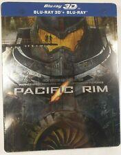 Pacific Rim_Guillermo del toro steelbook Blu-ray(3D+Blu-ray )(version italy) New