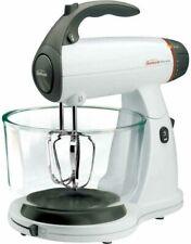 Sunbeam FPSBSMGLW White 12 Variable Speed 350 Watt Stand Mixer W/ Glass Bowl NEW
