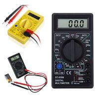 Numérique Multimètre voltmètre ampèremètre ohmmètre AC DC Circuit testeur