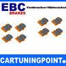 EBC Brake Pads Front & REAR AXLE ORANGE FABRIC FOR SUBARU IMPREZA 2 GD,GG