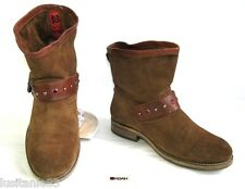 Koah - Boots Booties all Leather Suede Brown 37 - Very Good Condition