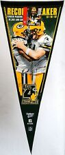 Green Bay Packers Brett Favre Career Passing Record Breaking Collectors Pennant