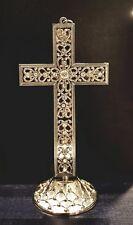 Silver Metal Standing Cross