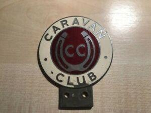 Caravan Club Badge from the 1960s era
