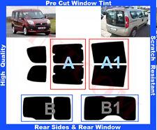 Pellicola Oscurante Vetri Auto Pre-Tagliata Fiat Doblo 2010-... da 5% a 50%