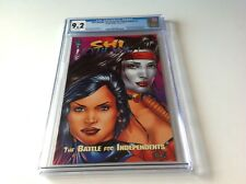 SHI CYBLADE BATTLE FOR INDEPENDENTS 1 CGC 9.2 RARER IMAGE COMICS