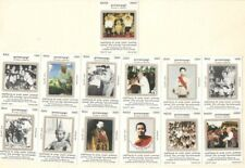 Cambodia Khmer Stamp 2001 Collection 80th Birthday King Norodom Sihanouk 13V