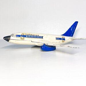 🛫Dinky Toys🛬 717 Boeing 737 Lufthansa, 1970-75 Airplane. Vintage 💎