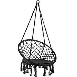 interno free size bianco esterno mobili durevoli per giardino con 2 pezzi di sedia sospesa Altalena in corda sospesa per sedia amaca