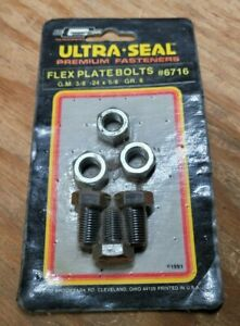 """Mr. Gasket #6716 Ultra-Seal Flex Plate Bolts G.M 3/8""""-24 x 5/8"""" Grade 8"""