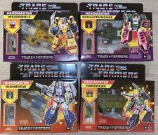 Transformer G1 Reissue Headmaster Skullcruncher Highbrow Weirdwolf Hardhead lot