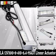 """12"""" Stroke Linear Actuator 220lbs Max Lift for Car Boat 8mm/s Spd DC 12V"""