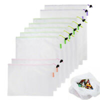 Eco Friendly Washable Reusable Mesh Storage Shopping Bags For Grocery Fruit bag
