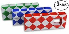 LARGE Speed Cube Magic Snake Ruler Twist Puzzle 36 Wedges Twist Toys 3 Pack!