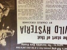 b1j ephemera 1953 film article wild hysteria elvis presley